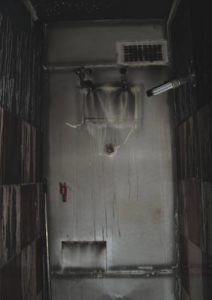 A IX. emeleti lakás mellékhelyisége