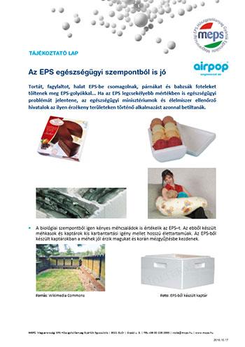 Az EPS egészségügyi szempontból is jó
