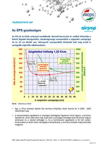 Az EPS gazdaságos