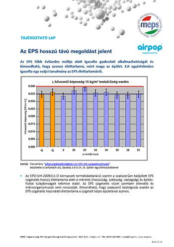 Az EPS hosszú távú megoldást jelent